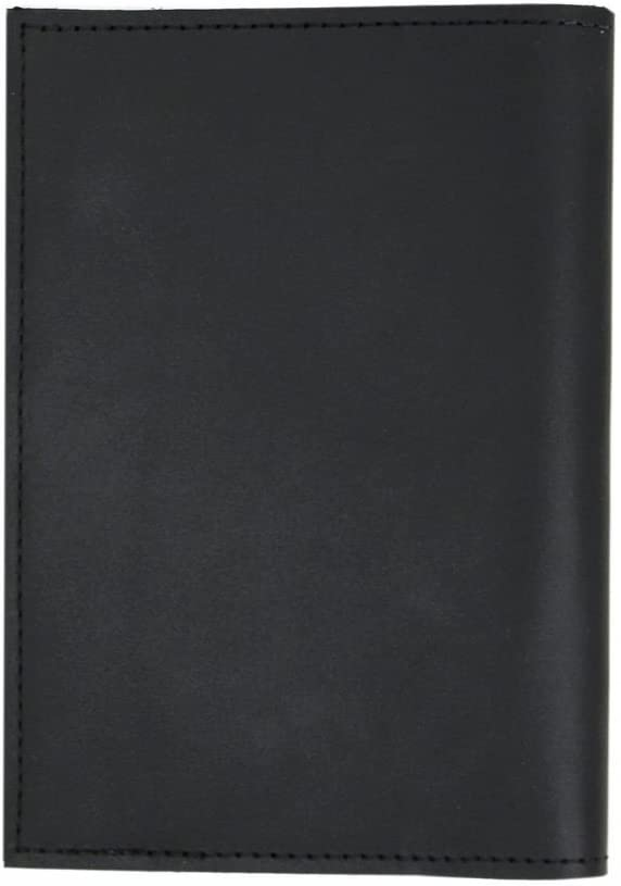 Personalized Monogram Genuine Leather Passport Cover