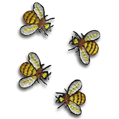 Bee Applique - [4 Count Set] Custom and Unique (5/8