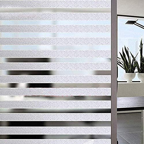 Static Cling Privacy EZ Film Oval Squares
