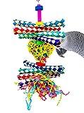Bonka Bird Toys 1730 Foraging Heart Bird Toy parrot cage toys cockatiel african grey conure