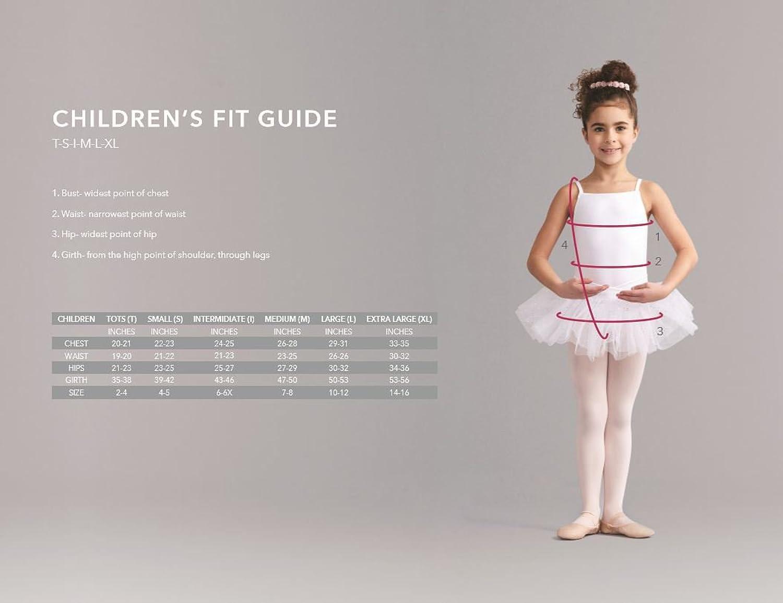 amazon com capezio girls u0027 hold u0026 stretch footed tight clothing