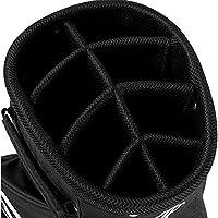 Top Flite 2018 Golf Cart Bag Mens Lightweight 8-Way Top - Black