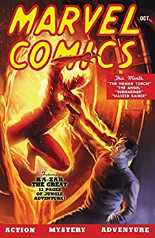 Marvel Comics (1939) #1 by [Burgos, Carl, Gustavson, Paul, Everett, Bill, Anders, Al, Dixon, Tohm, Thompson, Ben, Gill, Ray]