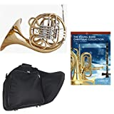 Band Directors Choice Double French Horn Key of F/Bb - Young Band Christmas Collection Pack; Includes Intermediate French Horn, Case, Accessories & Young Band Christmas Collection Book