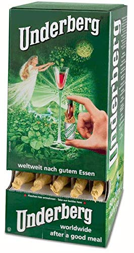 - Underberg 60 Bottle Dispenses plus 2 btl Handschmeichler