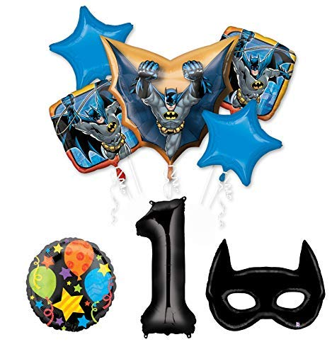 Mayflower Products Batman 1st Birthday Party Supplies and