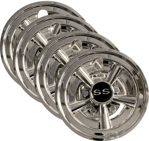4x-8-Chrome-Golf-Cart-Wheel-Covers-for-EZGO-Club-Car-Yamaha-Carts