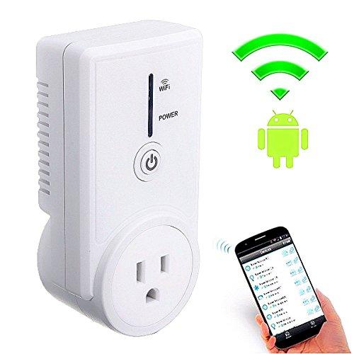 Smart Plug, GOCHANGE US Plug Wi-Fi Smart Socket Outlet, W...