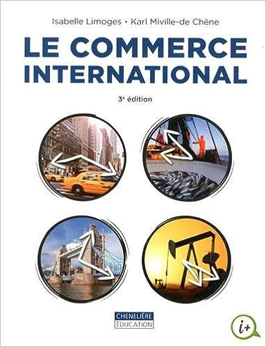 Livre Le commerce international pdf, epub ebook