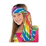 amscan Groovy Hippie Girl Costume | Disco 70s