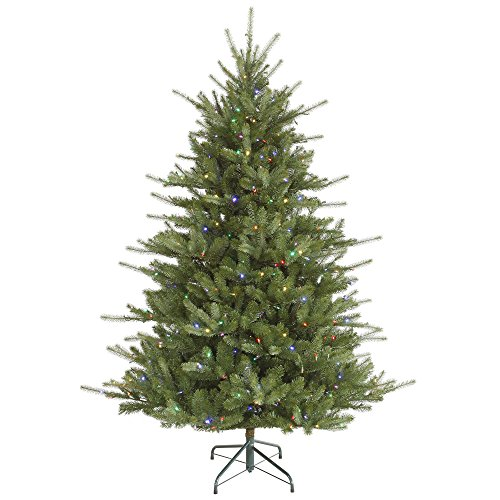 "UPC 734205271551, Vickerman 6.5' x 56"" Colorado Spruce LED 480Multi D123567LED"