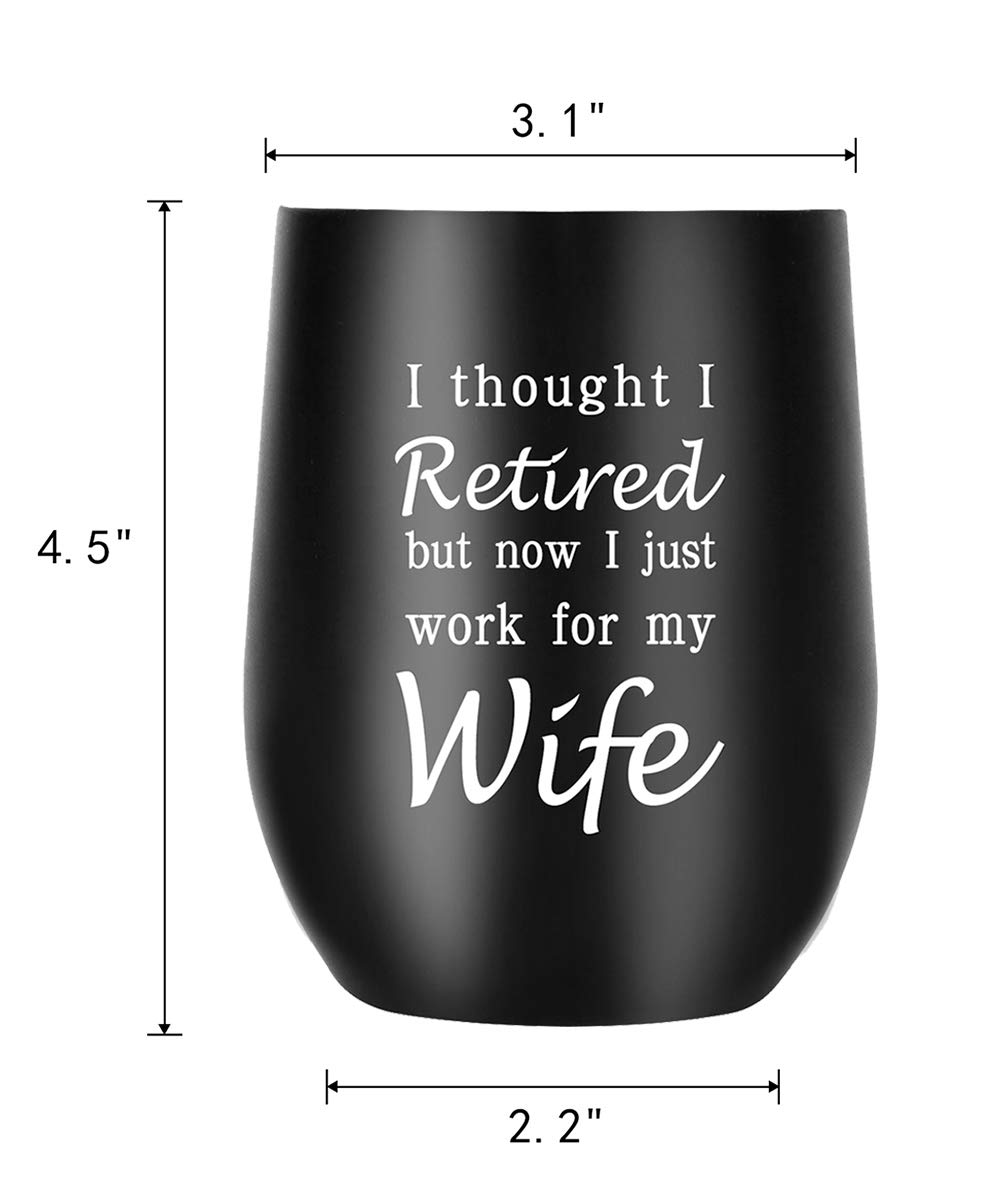 Novelty Insulated Wine Tumbler for Her 40 Years Old 40Bit 40th Birthday Gifts for Women Funny Wine Glasses