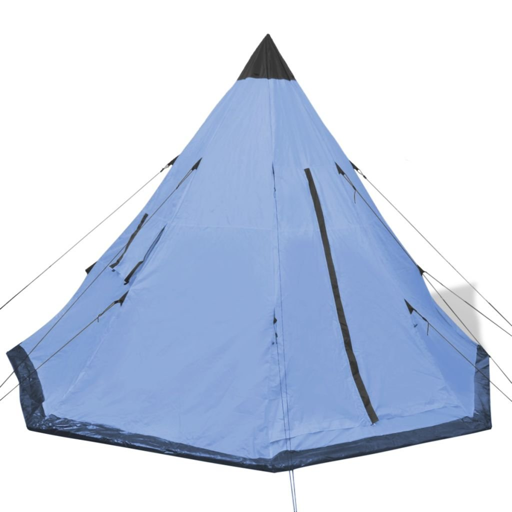 HELLOLAND 4-person Tent Blue People//Man Easy Quick Setup Ventilated Waterproof 4 Season Big Family Privacy Tent Shelter for Backpacking Picnic Travel
