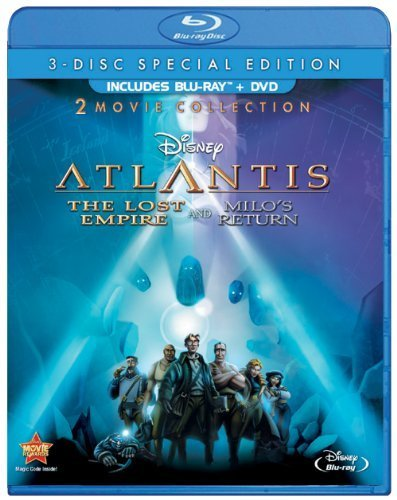 Atlantis: The Lost Empire / Atlantis: Milo's Return: Two-Movie Collection (Three Disc Blu-ray / DVD Combo) by Walt Disney Home Video