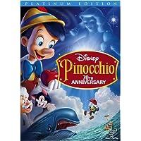 Pinocchio (2-Disc 70th Anniversary Platinum Edition) (Bilingual)
