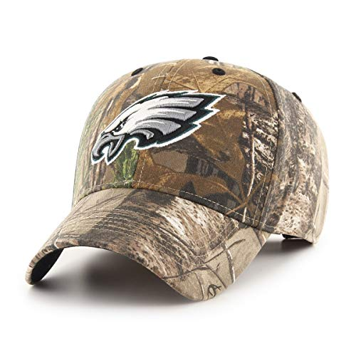 OTS NFL Philadelphia Eagles Male Hickory All-Star Adjustable Hat, Realtree, One Size