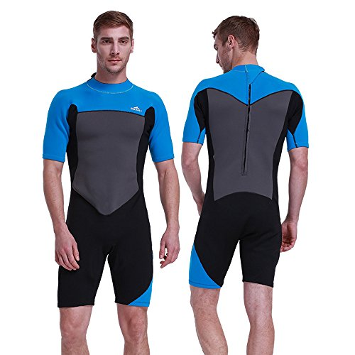 Unisex Short Sleeve 2MM Neoprene Wetsuit Men for Surfing One Piece Triathlon  Scuba Diving Spearfishing Wetsuit Women Surfing - Buy Online in KSA. db2b8a5d3