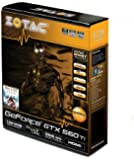 ZOTAC GeForce GTX560 Ti 1GB GDDR5 PCI Express 2.0 Dual DVI/HDMI/Displayport SLI Ready Graphics Card, ZT-50301-10M