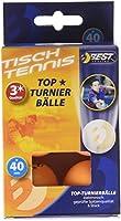 Best Sport 3 Star Tischtennis-Bälle-Orange-Turnier