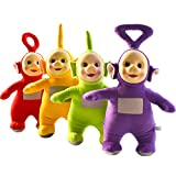Teletubbies Cute Dipsy Tinky Winky Po Laa-Laa Plush Dolls Xmas Stuffed Toys 25cm 4pcs