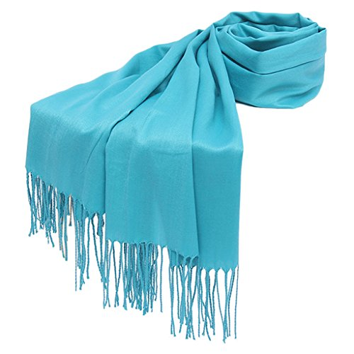 otoño sólido Dabixx Mujer para Chal pañuelo borlas Bufanda Largo Envuelve 17 Hijab Pashmina Invierno 9 qfwxfTIErt