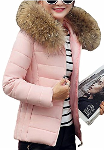 Xswsy XG Womens Down Coat Full Zipper Faux Fur Collar for sale  Delivered anywhere in USA