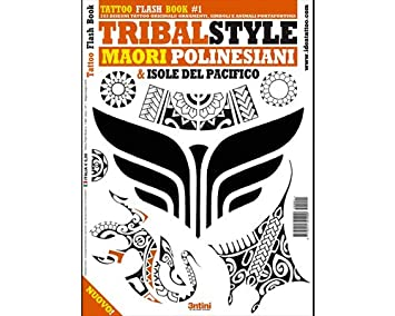 f0acc82de Image Unavailable. Image not available for. Color: Tribal Style Maori  Polynesian Pacific Island Tattoo Flash Design Book ...