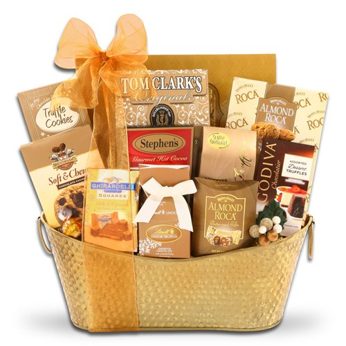 Elegant Holiday Gift Basket