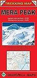 Mera Peak - Climbing Map - Scale: 1 50000/25000