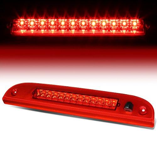 For Explorer/Escape/Mariner/Mountaineer Rear High Mount LED 3rd Brake Light + Sprayer Nozzle (Red Lens) ()
