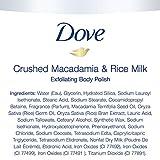 Dove Exfoliating Body Polish Body Scrub To Help