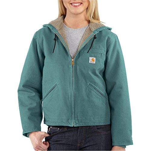 Carhartt Women's Sandstone Sierra Sherpa-Lined Jacket XL, 2X-Large