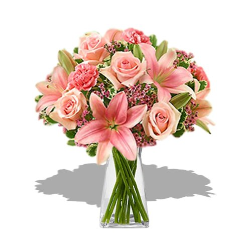Pink perfection Bouquet by Send Gifts