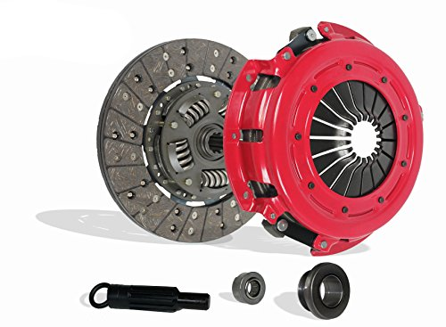 (Clutch Kit Set Works With Ford Mustang Gt Lx Cobra Svt 1986-2000 4.6L V8 GAS DOHC 4.6L V8 GAS SOHC 5.0L V8 GAS OHV Naturally Aspirated (Stage 1))