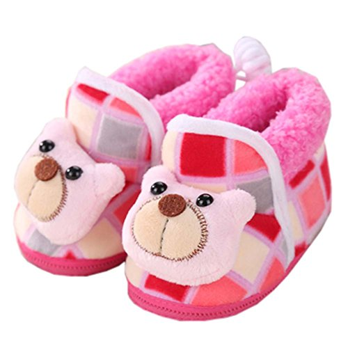 Winter Warm Unisex Baby Shoes Toddler Booties Infant Walking Shoes Baby Shower Gift, 09 ()
