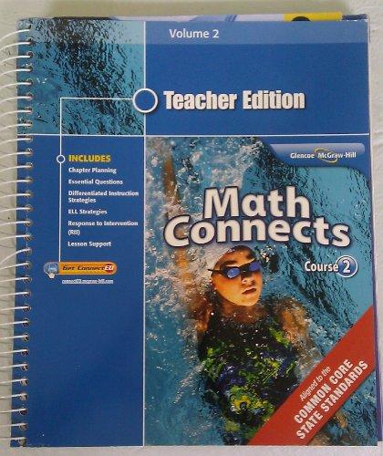 Math Connects Course 2 Teacher Edition Volume 2