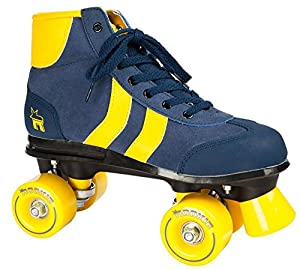 Rookie Retro Adult Roller Skates - Blue/Yellow