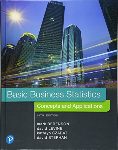 Basic Business Statistics Plus MyLab Statistics with Pearson eText -- Access Card Package (14th Edition)