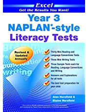 Excel NAPLAN*-style Literacy Tests Year 3