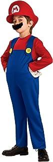 Super Mario Brothers Deluxe Mario Costume Large  sc 1 st  Amazon.com & Amazon.com: Super Mario Brothers Deluxe Luigi Costume Medium: Toys ...