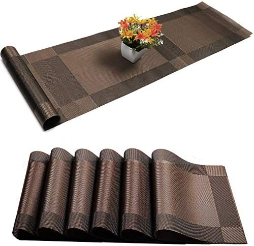 Placemats Resistant Washable Crossweave Tablemats product image