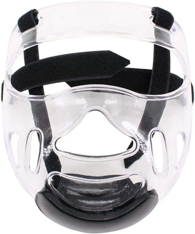 Sports Clear Face Shield -Head Shield Extraíble Casco De Taekwondo Máscara Equipo De Protección Taekwondo Sparring Gear Sparring Gear Set Karate Sparring Gear Para Niños Taekwondo Sparring Gear Set