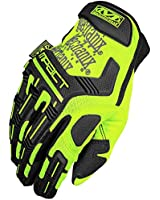 Mechanix Wear Men's The Safety M-Pact Gloves Yellow