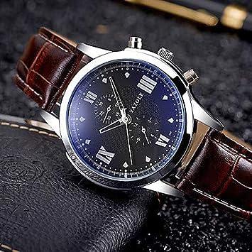 Relojes para hombres, YAZOLE Hombre Reloj Deportivo Reloj Militar Reloj de Vestir Reloj de Moda
