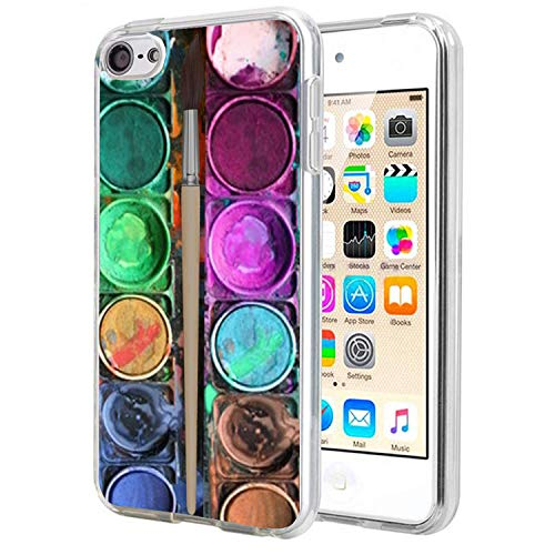 - Matcase for I pod Touch 6 Case I pod Touch 5 Case - Watercolor Box Set Crystal Clear Transparent Anti Scratch Resistant Shock Absorption Ultra Slim Fit Protective with TPU Bumper Hybrid Designer Case