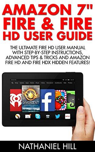 amazon com amazon 7 fire fire hd user guide the ultimate fire rh amazon com kindle fire hd user guide for dummies Amazon Fire HD Manual