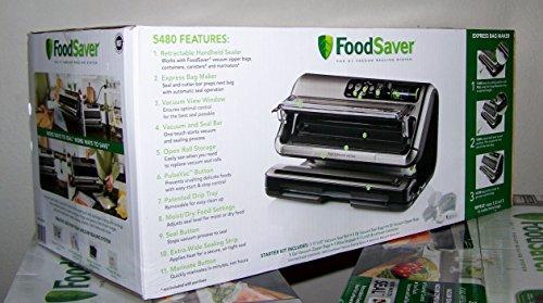 FoodSaver FM5480 2-in-1 Food Preservation System, Black/Silver by Foodsaver (Image #2)'