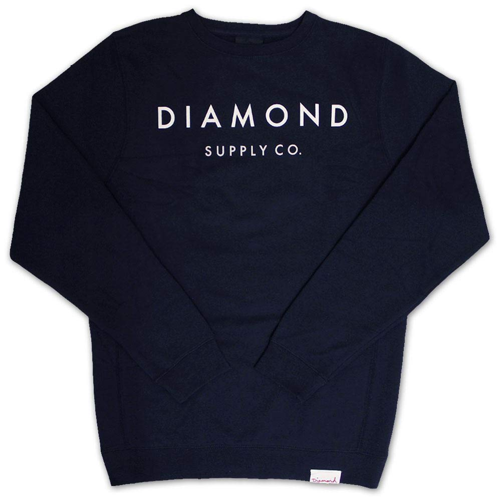 Diamond Supply Co Yacht Type Sweatshirt Navy