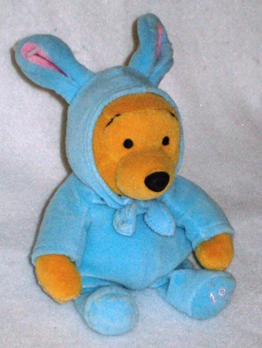 (Disney Mini Beanbag Easter Bunny Pooh Bear)
