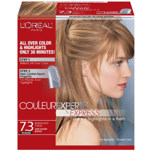 Loreal light golden brown hair color